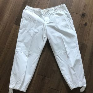 Ralph Lauren White Capri pants
